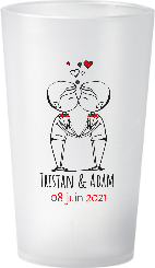 gobelet Mariage-Personnage-Tristan&Adam
