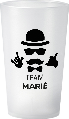 gobelet EVG Team Marié Cool