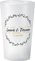 gobelet Mariage Laurie & Titouan